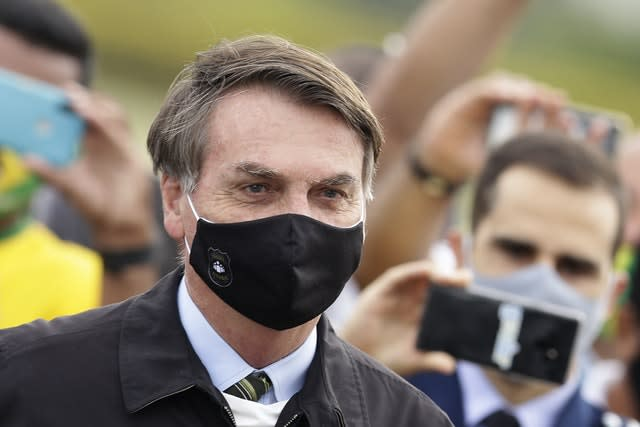Brazil President Jair Bolsonaro tested positive after months of downplaying the virus's severity while deaths mounted rapidly inside the country