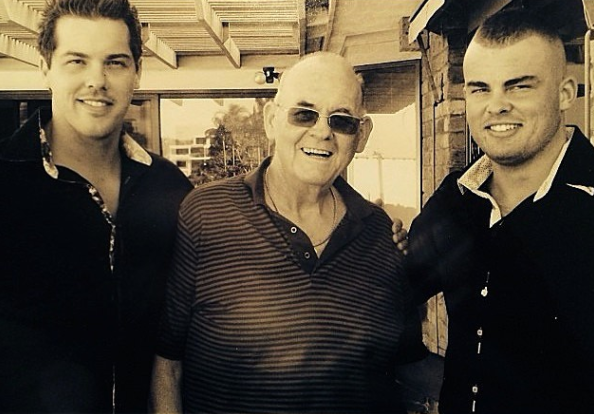 Bachelor In Paradise star Jake Ellis's dad has died two years after his mum. Photo: Instagram/jakeellis86.