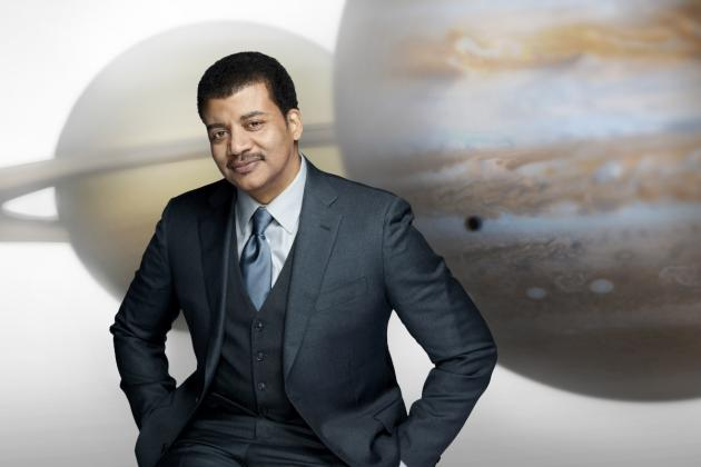 Neil deGrasse Tyson hosts Fox's Cosmos: A Spacetime Odyssey.