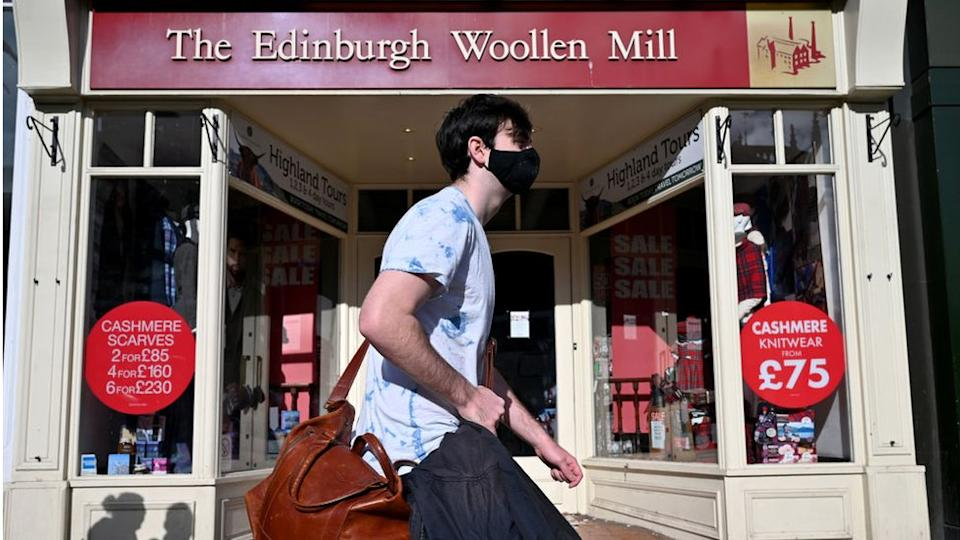 An edinburgh woollen mill store after the intention to appoint administrators was filed on october 9 2020