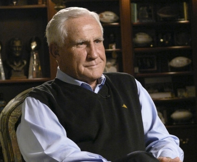 Don Shula was a Pro Football Hall of Fame coach, and his eponymous steakhouse in Indianapolis once was a hub during NFL combine week. (Photo by Stephanie Himango/NBCU Photo Bank/NBCUniversal via Getty Images via Getty Images)