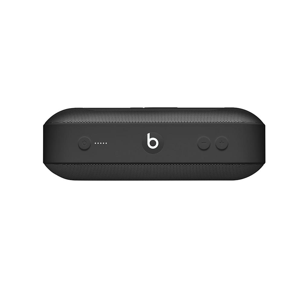 """<p><strong>Beats by Dre</strong></p><p>apple.com</p><p><strong>$179.95</strong></p><p><a href=""""https://go.redirectingat.com?id=74968X1596630&url=https%3A%2F%2Fwww.apple.com%2Fshop%2Fproduct%2FML4M2LL%2FA%2Fbeats-pill-portable-speaker-black&sref=https%3A%2F%2Fwww.cosmopolitan.com%2Flifestyle%2Fg33865019%2Fbest-karaoke-microphones%2F"""" rel=""""nofollow noopener"""" target=""""_blank"""" data-ylk=""""slk:Shop Now"""" class=""""link rapid-noclick-resp"""">Shop Now</a></p><p>Alright, technically this one isn't a microphone. But it's exactly what your party needs so you and your friends can scream your favorite songs from the top of your lungs.</p>"""