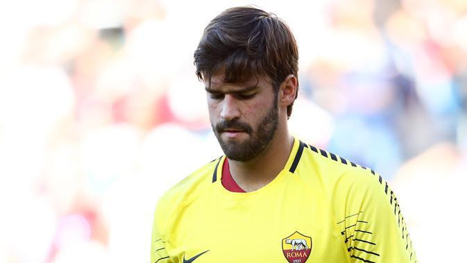 Kiper AS Roma Alisson Becker (Maddie Meyer / GETTY IMAGES NORTH AMERICA / AFP)