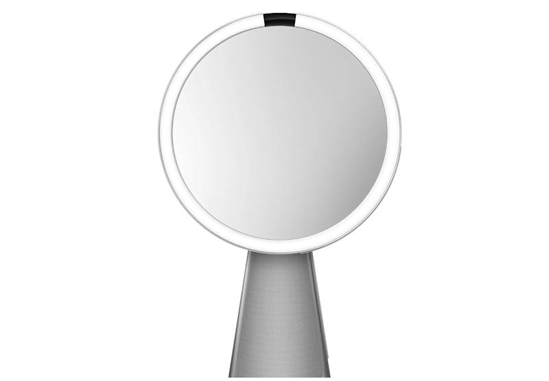 The SimpleHuman HiFi Assist is built-in with a vanity mirror with Google Assistant. Source: SimpleHuman