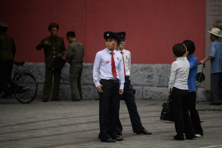 """The regime has asked young North Koreans to carry the """"baton of loyalty and patriotism"""" and shun the values and trends of the South"""