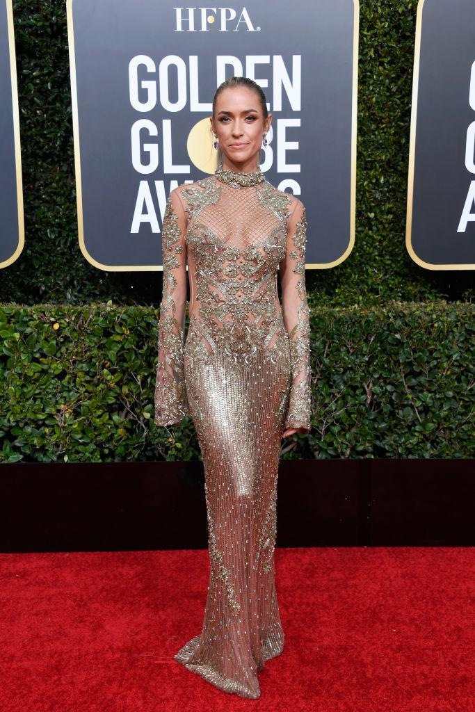 <p>Kristin Cavallari attends the 76th Annual Golden Globe Awards at the Beverly Hilton Hotel in Beverly Hills, Calif., on Jan. 6, 2019. (Photo: Getty Images) </p>