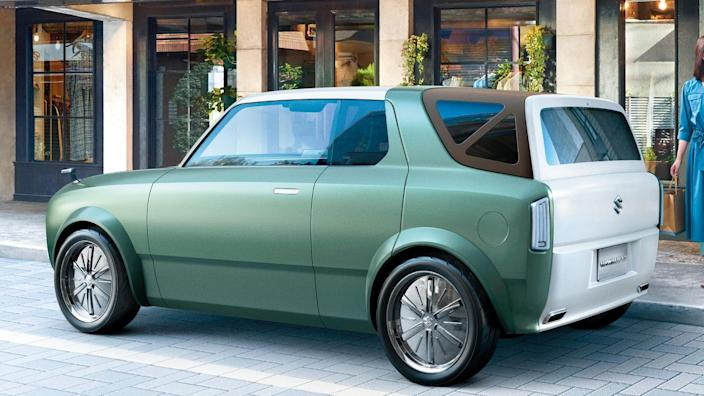 """<p><strong>West Coast Editor James Riswick:</strong> It's an electric car with retro styling, which I'm pretty much always a sucker for. Then! Then, it turns out to be both a coupe and a wagon. Those are the two best body styles! Special non-binding bonus points to Suzuki for <a href=""""https://www.autoblog.com/2019/10/01/suzuki-retro-coupe-autonomous-van-tokyo-motor-show-concepts/#slide-2179038"""" rel=""""nofollow noopener"""" target=""""_blank"""" data-ylk=""""slk:this picture"""" class=""""link rapid-noclick-resp"""">this picture</a> and the <a href=""""https://www.autoblog.com/2019/10/01/suzuki-retro-coupe-autonomous-van-tokyo-motor-show-concepts/#slide-2179040"""" rel=""""nofollow noopener"""" target=""""_blank"""" data-ylk=""""slk:backwards Hustler graphic"""" class=""""link rapid-noclick-resp"""">backwards Hustler graphic</a>. I love Japan.</p> <p><strong>Consumer Editor Jeremy Korzeniewski:</strong> I'm so sad that I'll never get to see the Wako Spo on the road. I love everything about this thing (save for its blocky chrome wheels), especially the way in converts from a coupe into a wagon.</p> <p><strong>Video Production Manager Eddie Sabatini:</strong> I like its retro-inspired look. Also neat that you can customizable the body style from Coupe to Wagon. </p>"""