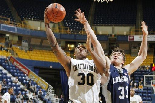 Pellum has 33, Hampton holds off Longwood 82-79
