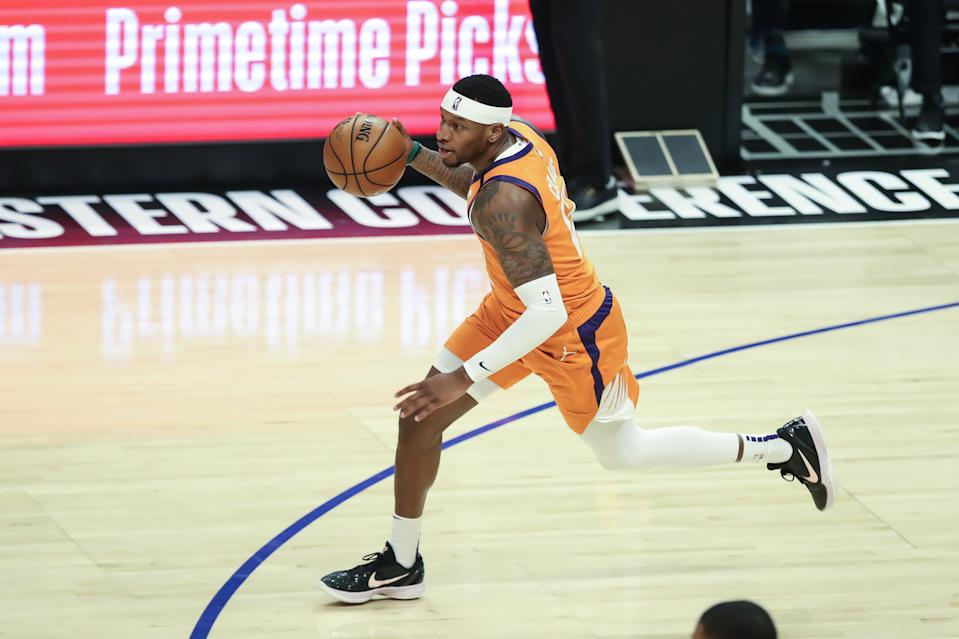 Torrey Craig of the Phoenix Suns will get a championship ring regardless of who wins. (Photo by Jevone Moore/Icon Sportswire via Getty Images)