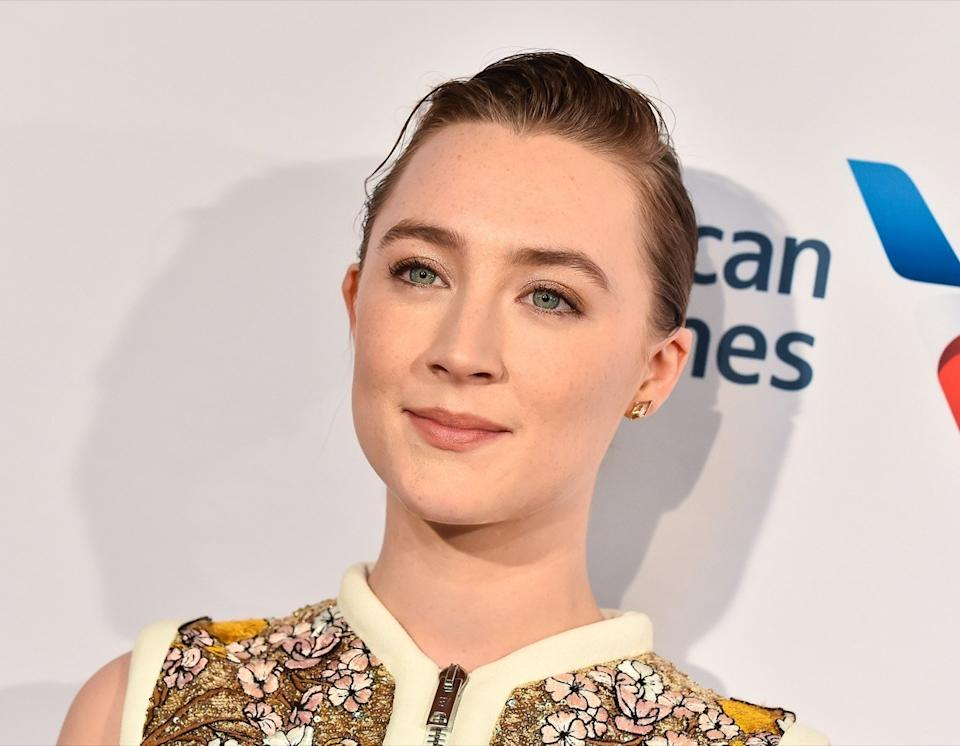 Saoirse Ronan at the BAFTA Los Angeles Tea Party in 2020