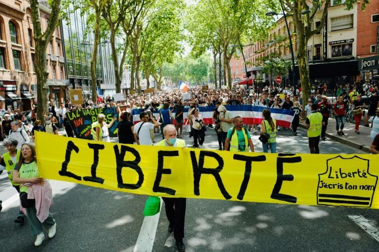 Protest in Toulouse