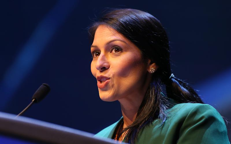 Priti Patel, the International Development Secretary, will defend the 0.7 per cent spending pledge - Copyright (c) 2017 Rex Features. No use without permission.