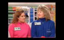 """<p>According to Futia, there was a lag time between taping the show and getting your paycheck. """"It was a syndicated show, so they taped all the episodes, and you didn't even know if you were going to get the money if you won unless it aired, which could be six months later, because they then had to sell it,"""" Futia <a href=""""https://tv.avclub.com/what-was-it-like-to-be-on-supermarket-sweep-1798271210"""" rel=""""nofollow noopener"""" target=""""_blank"""" data-ylk=""""slk:told The A.V. Club"""" class=""""link rapid-noclick-resp"""">told <em>The A.V. Club</em></a>.</p>"""