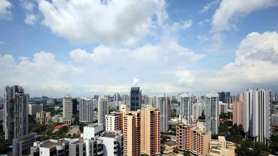 A view of residential developments in Singapore. Photo: EdgeProp