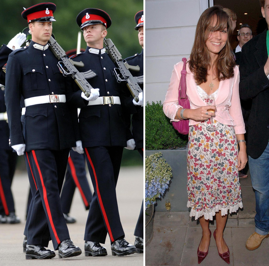 <p>After graduating, the pair chose very different careers with William enrolling at the Royal Military Academy in Sandhurst and Kate becoming an accessories buyer for Jigsaw.<br><i>[Photo: PA]</i> </p>