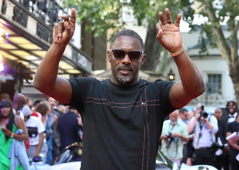 Idris Elba at the Fast & Furious: Hobbs & Shaw UK Special Screening at the Curzon Mayfair