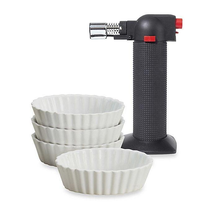 <p>The <span>Oggi 5-Piece Crème Brulee Set </span> ($20) is perfect for the person who loves to bake.</p>