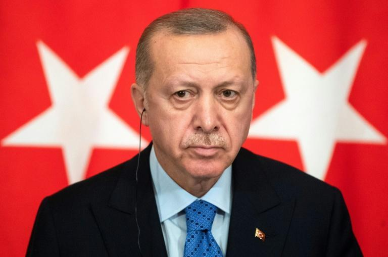 Turkish President Recep Tayyip Erdogan has in recent years placed great emphasis on the battles which resulted in the defeat of Byzantium by the Ottomans (AFP Photo/Pavel Golovkin)
