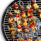 """<p>Sweet meets savory in this Italian sausage skewer recipe, which requires just a few ingredients to make. </p><p><strong><em><a href=""""https://www.womansday.com/food-recipes/a32884724/sausage-kebabs-recipe/"""" rel=""""nofollow noopener"""" target=""""_blank"""" data-ylk=""""slk:Get the recipe for Sausage Kebabs"""" class=""""link rapid-noclick-resp"""">Get the recipe for Sausage Kebabs</a>. </em></strong></p>"""