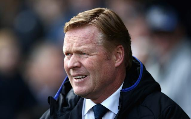 <span>Ronald Koeman thinks his side can have an impact on the title race</span> <span>Credit: getty images </span>