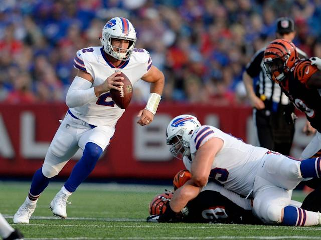 Peterman had pre-season to prove himself but was yanked after just two quarters of the regular season (AP)