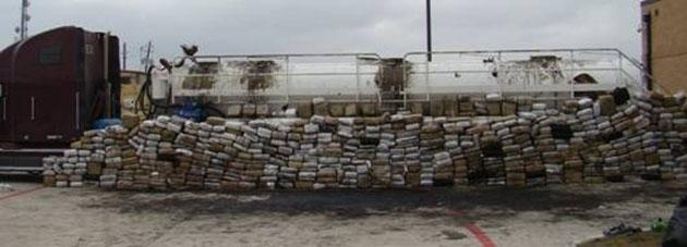3.9 tons of marijuana confiscated by Texas Highway Patrol (Texas Department of Public Safety)