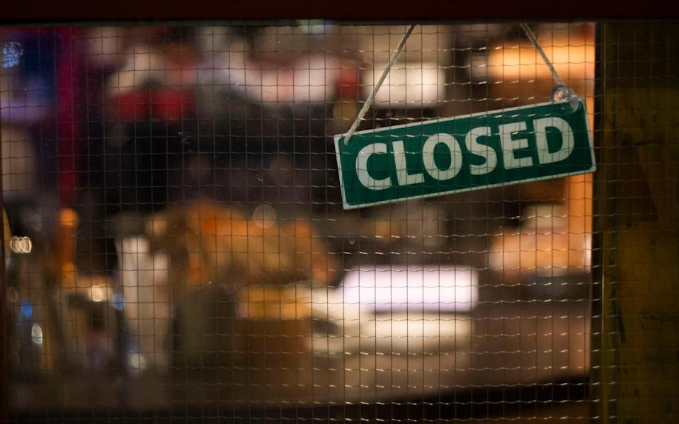 Bars and pubs are pushing back at the government's new curfew - getty
