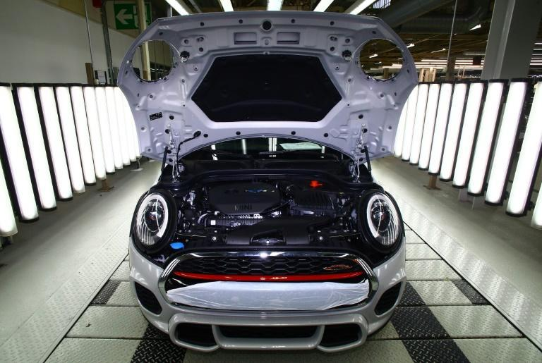 BMW has an assembly plant that produces Mini cars in Oxford, west of London