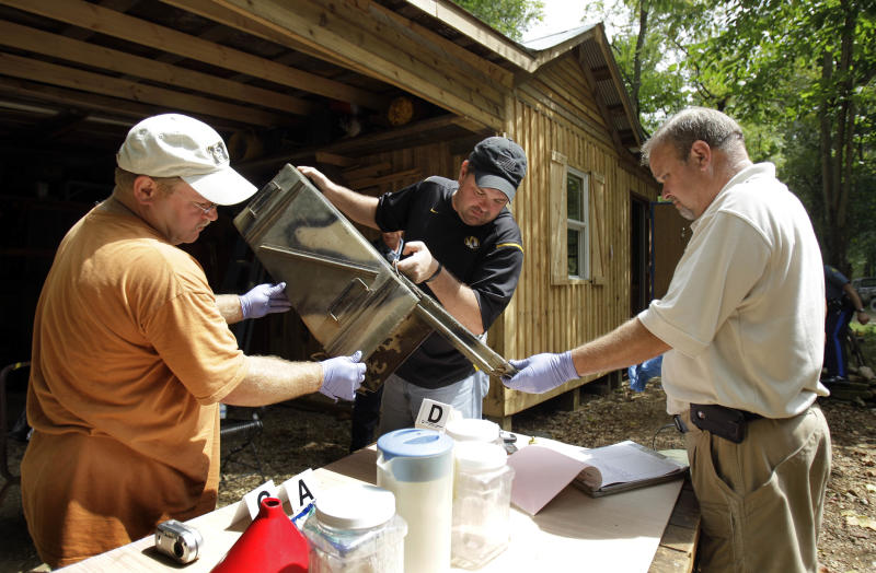 More meth labs showing up in cities, suburbs