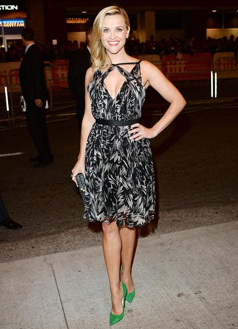 Reese Witherspoon Looks Skinnier, More Toned Than Ever at Toronto Film Festival