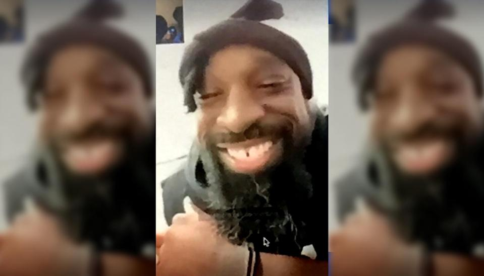 Wendell Brown's family got to see their son for the first time in years via video chat. (Courtesy of Wendell Brown family)