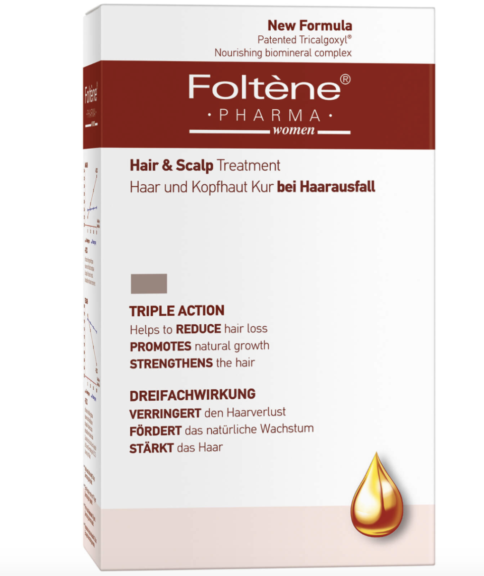 Foltène hair and scalp treatment for women, 100ml, S$45.50. PHOTO: Lookfantastic