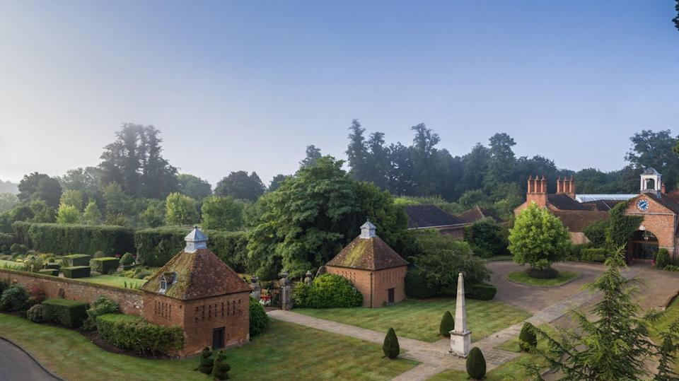 The two original 16th century dovecotes on the property (Four Seasons Hampshire)