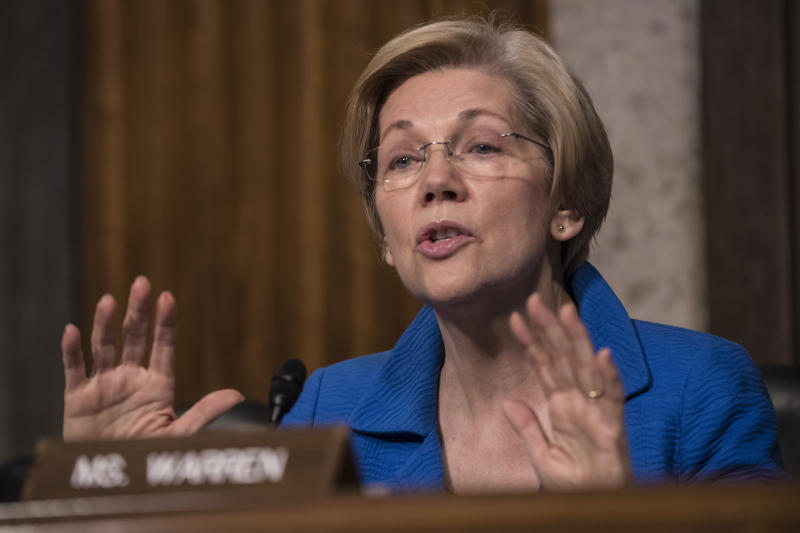 Warren embraces her role as a top Democratic foil to Trump