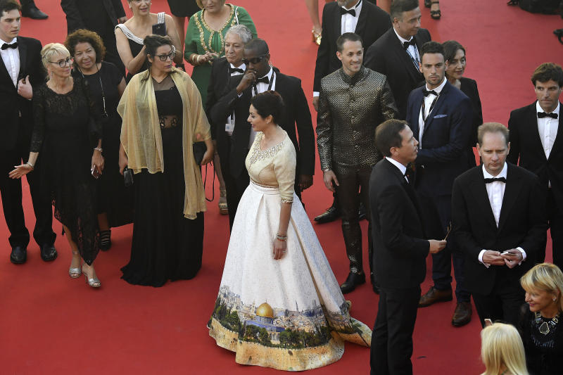 Israeli minister's dress at Cannes stirs up controversy
