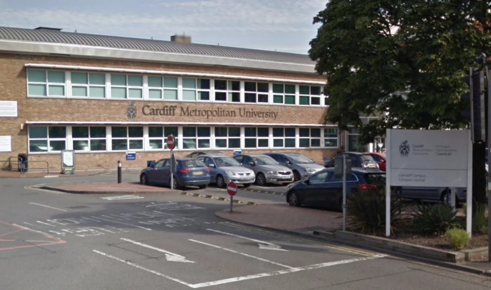 The students attend Cardiff Metropolitan University. (Google Maps)