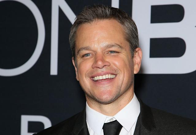 Matt Damon was smiling at the end of Rounders