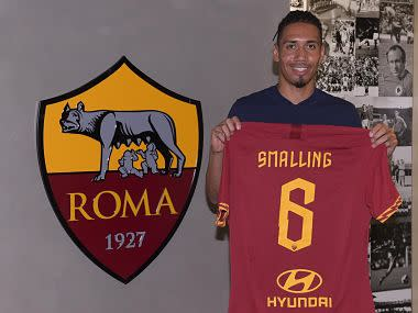 Serie A: Chris Smalling sees long term future at AS Roma after arriving on year-long loan deal from Manchester United