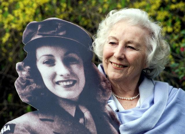 The festival paid tribute to Dame Vera Lynn. Sean Dempsey/PA Wire