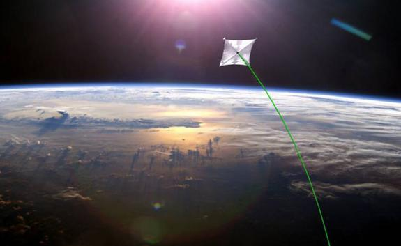"The Sunjammer project, slated to launch in 2014, will demonstrate ""propellantless propulsion"" offered by solar sails."