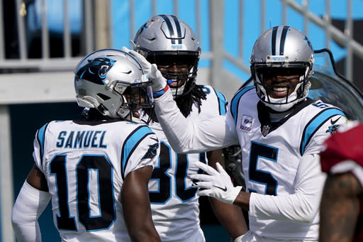 Bridgewater, Panthers fix red-zone woes, top Cardinals 31-21