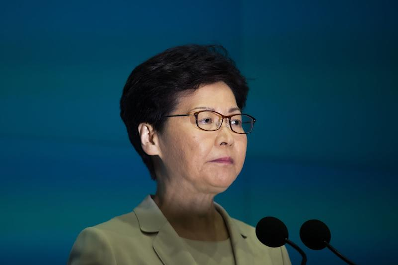 """(Bloomberg) -- Hong Kong leader Carrie Lam saw her approval rating plunge 9 percentage points in a month, as her bid to ease extraditions to China prompted hundreds of thousands of protesters to take to the streets.The Beijing-backed chief executive saw her approval rating fall to a record low of 23% and her disapproval rise to 67%, according to a survey released Tuesday by the University of Hong Kong's Public Opinion Programme. Support for the former British colony's government fell to 18% -- the lowest since 2003 -- according to the poll of 1,015 residents conducted between June 17 and 20.""""The rallies, protests and related controversies as a result of the amendments of the extradition bill appear to have affected public opinion to a fairly large extent,"""" the polling institute said. """"The younger and the more educated the respondents, the more critical they are of Carrie Lam.""""The dismal poll performance will boost protesters' efforts to force Lam out over the bill, which would have for the first time allowed the transfer of criminal suspects to mainland China. While Lam suspended efforts to pass the legislation after clashes between demonstrators and police on June 12, rallies calling for its withdrawal and her resignation have continued.The plunge means that Lam is poised to begin her third year in office next week more unpopular than any of her three predecessors at this point in their terms. By one measure, she performs almost as poorly as former Chief Executive Tung Chee-hwa did after similar mass protests in 2003 -- unrest that contributed to his decision to resign more than a year later.Carrie Lam Clings to Hong Kong's 'Impossible Job' After ProtestsHKU put her support rating -- an average of the ratings given to her by all respondents, on a scale of one to 100 -- at 32.8 points, down from 63.6 points during her first week in office. That's as low as either Tung or her immediate predecessor, Leung Chun-ying, at the depths of their unpopularity.Lam has failed t"""