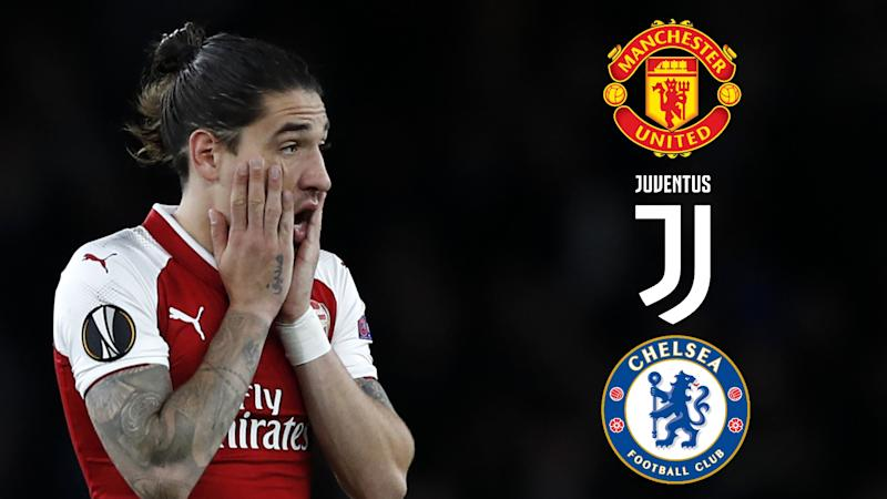 'I'm very happy at Arsenal' - Man Utd-linked Bellerin rejects 'crazy' transfer rumours