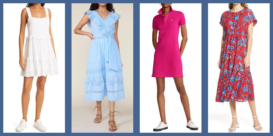 "<p>After a year or so of languishing in our sweats, life is revving back up again—and so is our desire to get dressed. Just in time for temperatures to rise. And as things get a bit balmier, the perfect dressing solution is, well, a summer dress. With tons of styles and silhouettes to choose from, the all-stars for the upcoming season will surely be floaty and forgiving <a href=""https://www.townandcountrymag.com/style/fashion-trends/g35469951/best-house-dresses/"" rel=""nofollow noopener"" target=""_blank"" data-ylk=""slk:house-dresses"" class=""link rapid-noclick-resp"">house-dresses</a>, flirty <a href=""https://www.townandcountrymag.com/style/fashion-trends/g26627927/cute-spring-dresses/"" rel=""nofollow noopener"" target=""_blank"" data-ylk=""slk:floral frocks"" class=""link rapid-noclick-resp"">floral frocks</a>, and romantic prairie silhouettes, as well as the good old fashioned minidress, and an all-white frock. Here, some of the most stylish summer dresses to slip into as the temperatures rise. </p>"