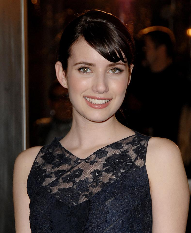 "<a href=""http://movies.yahoo.com/movie/contributor/1804508466"">Emma Roberts</a> at the Los Angeles premiere of <a href=""http://movies.yahoo.com/movie/1809785152/info"">The Curious Case of Benjamin Button</a> - 12/08/2008"