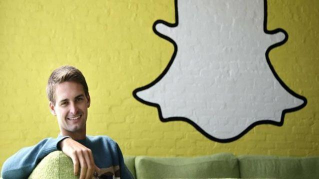 Snapchat founder Evan Spiegal is accused of making the comments in a lawsuit from an employee the company says is 'disgruntled'. Source: Snapchat