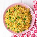 """<p>Before you go reaching for your bog-standard long-grain <a href=""""https://www.delish.com/uk/cooking/recipes/g34054460/rice-recipes/"""" rel=""""nofollow noopener"""" target=""""_blank"""" data-ylk=""""slk:rice"""" class=""""link rapid-noclick-resp"""">rice</a>, think again and try making homemade pilau rice instead! The vibrant colour of pilau rice just adds a bit of an extra something to our plates. Plus, it's a versatile dish, and you can add a variety of veggies or protein to bulk it out a bit. </p><p>Get the <a href=""""https://www.delish.com/uk/cooking/recipes/a29484612/pilau-rice/"""" rel=""""nofollow noopener"""" target=""""_blank"""" data-ylk=""""slk:Pilau Rice"""" class=""""link rapid-noclick-resp"""">Pilau Rice</a> recipe.</p>"""