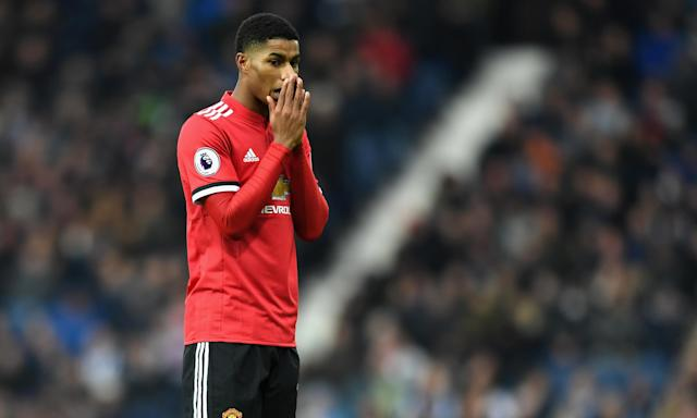 Marcus Rashford's Manchester United side played four games during the time Bundesliga players enjoyed a 12-day Christmas break.