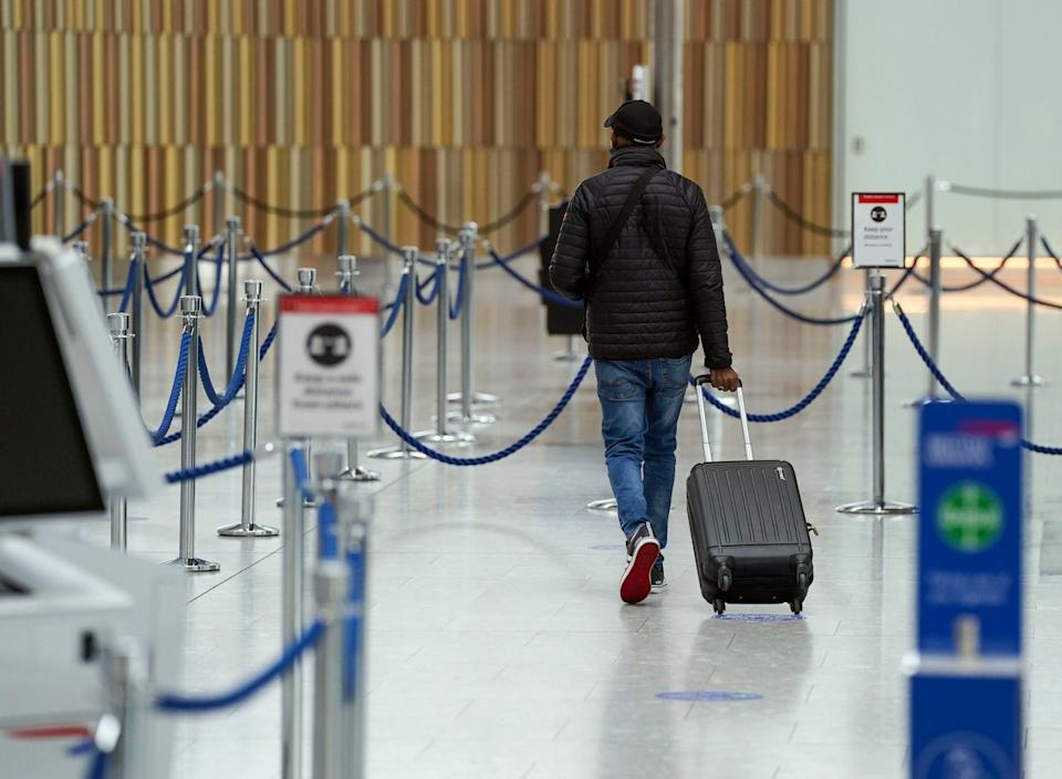 <p> You cannot use NHS Covid tests for international travel</p> (PA)