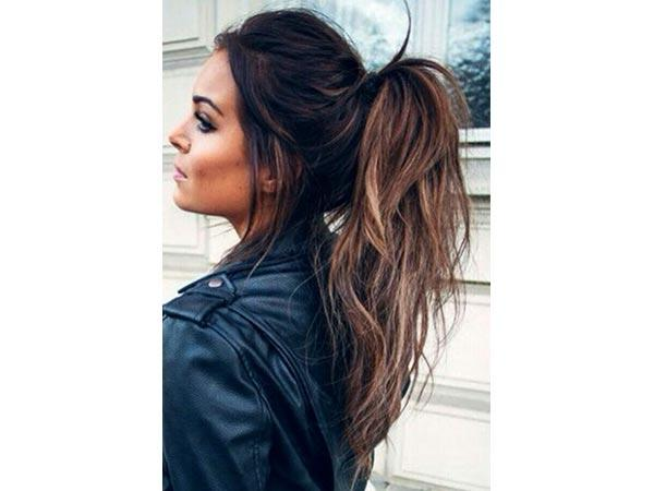 The Five Major Hairstyles Discussed Below Are Wavy Ponytail Straight Hair With Centre Parion Side Braided Hairstyle And Fringe